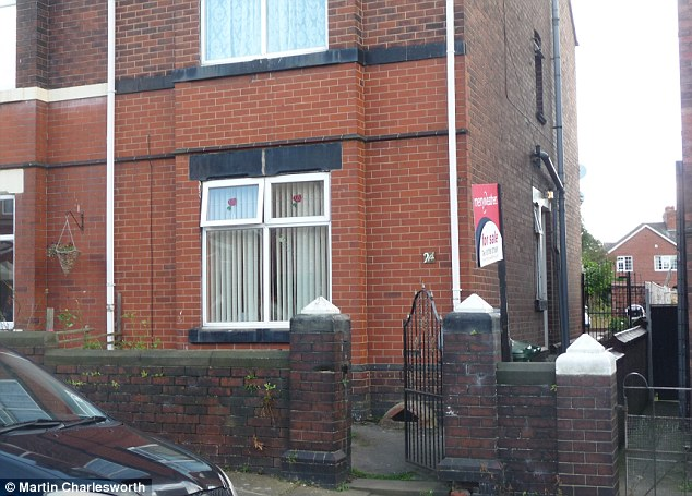 A total of 62 fraudulent visa applications were traced to 32 addresses in the UK and the trail of false documents led to 27 Broom Grove, Rotherham (pictured)