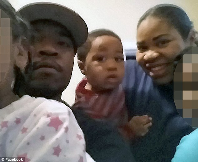 Mother Michelle Gregg, 32 (right) and father Deonne Dickerson, 36 (left), revealed that three-year-old son Isiah (center) is 'doing well' as he continues to recover after falling into a gorilla enclosure