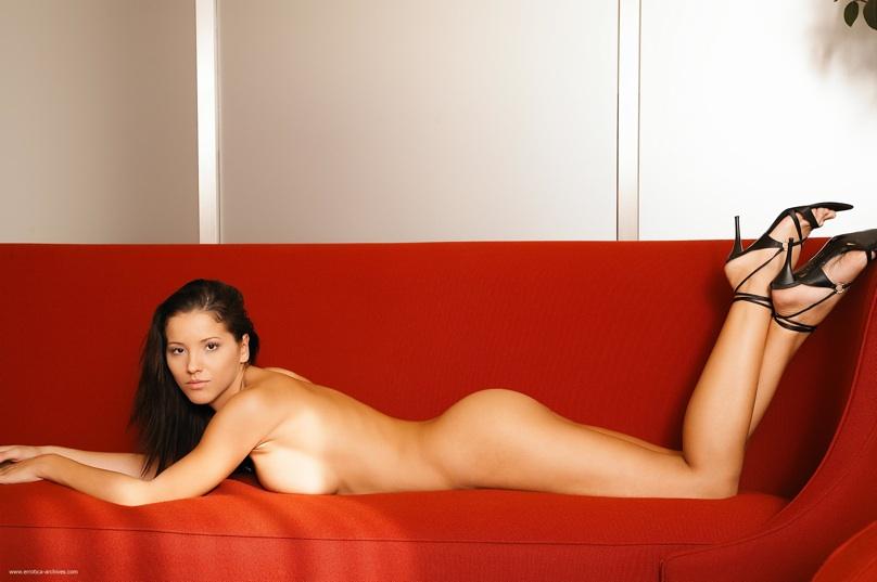 Dushku naked and